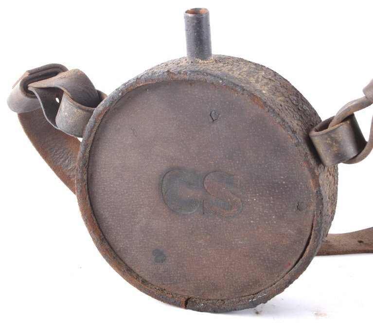 Early Theatre Replica Confederate States Canteen - 2