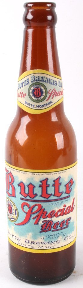 Collection Of Rare Montana Beer Bottles - 2