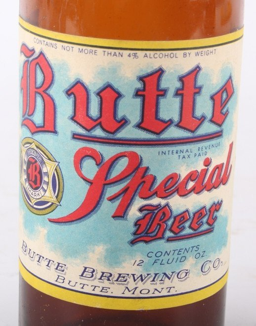 Collection Of Rare Montana Beer Bottles - 4