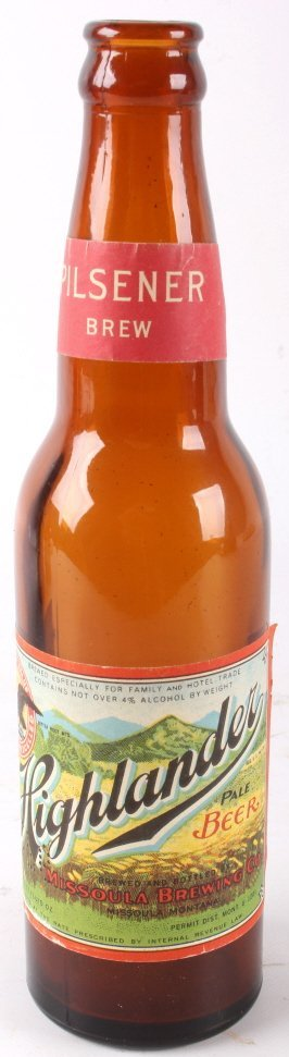 Collection Of Rare Montana Beer Bottles - 7
