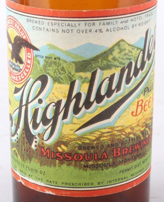 Collection Of Rare Montana Beer Bottles - 9