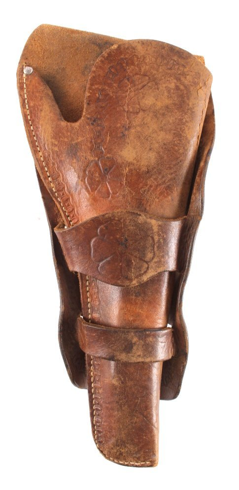 Antique Montana Single Action Colt Leather Holster