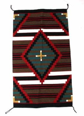Navajo Chief Wool Trade Blanket 20th C.