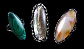 Navajo Sterling Silver Ring Collection