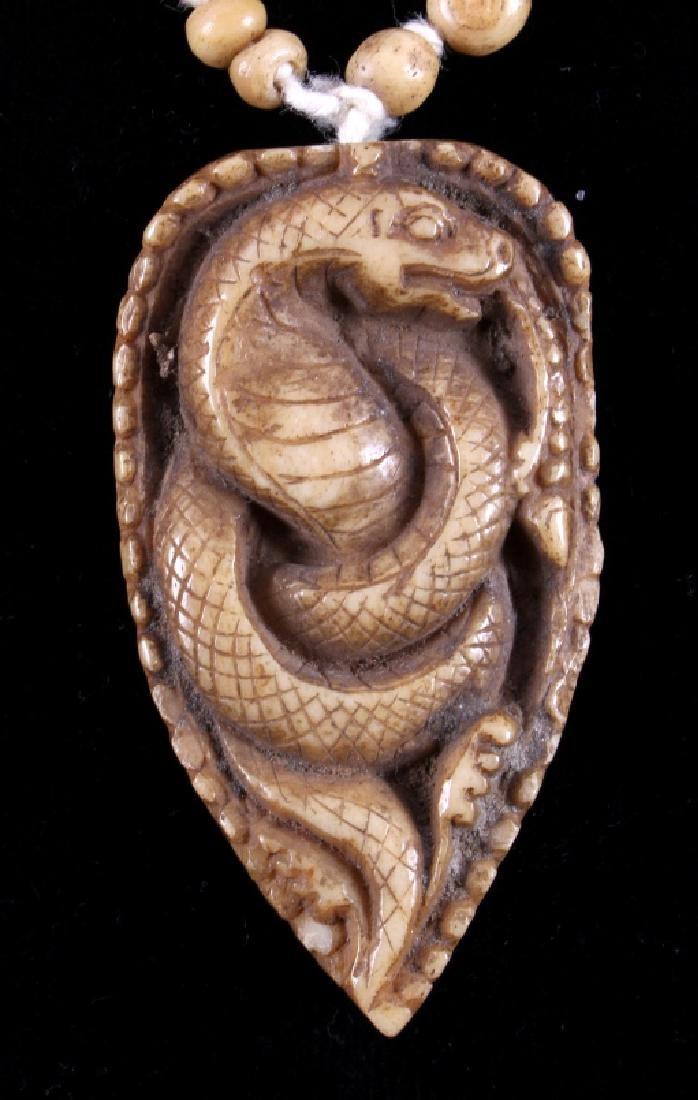 Tibetan Ritual Bone Apron Crown Cuffs 18th/19th C. - 17