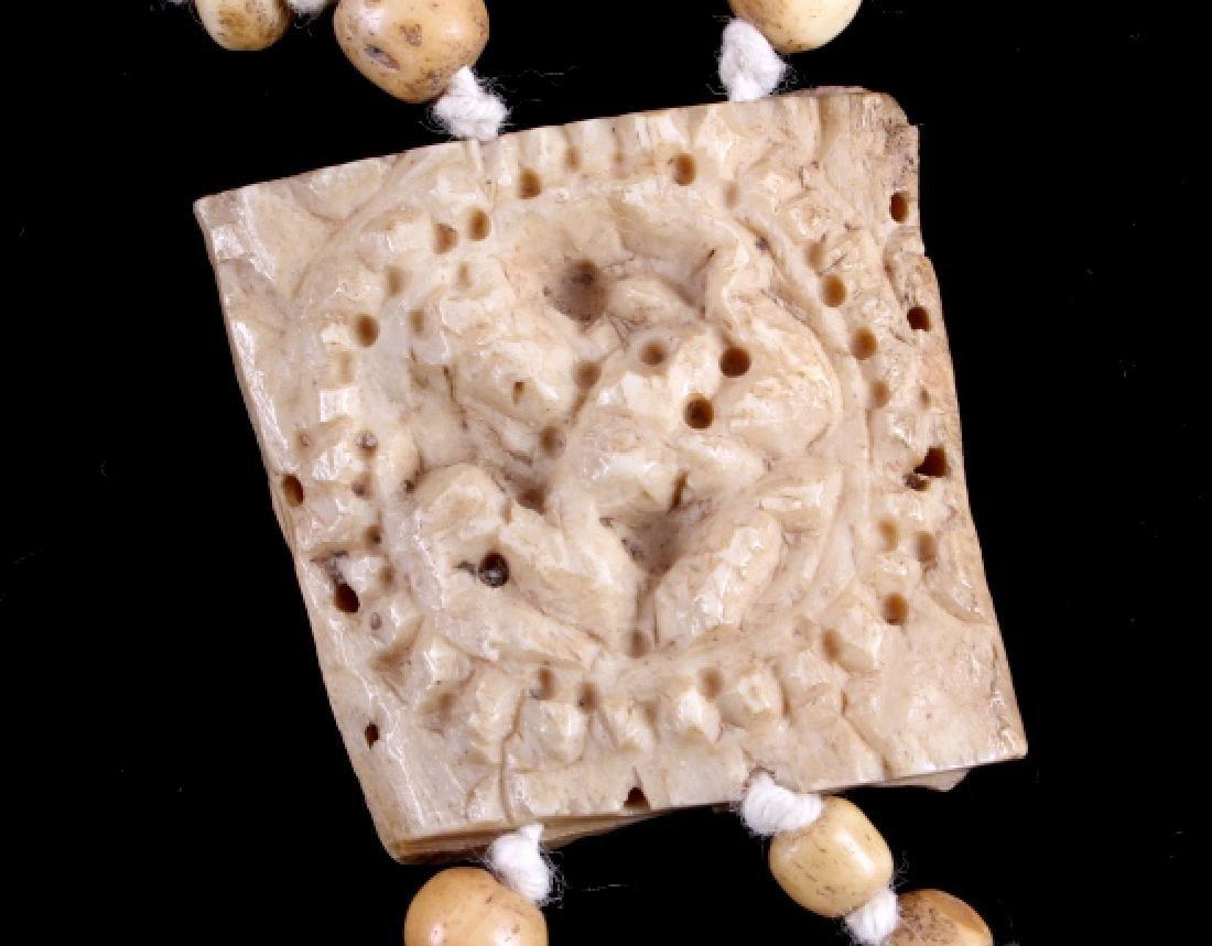 Tibetan Ritual Bone Apron Crown Cuffs 18th/19th C. - 19