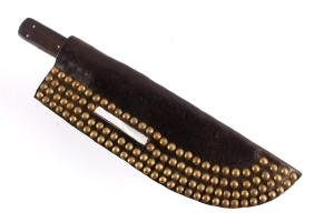 Crow Indian Tacked Sheath w/ 19th C. Snake Knife