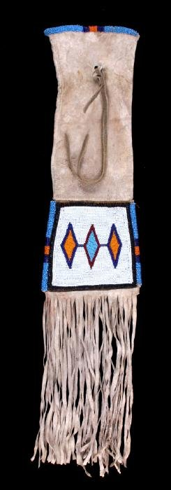 Northern Plains Indian Beaded Pipe Bag