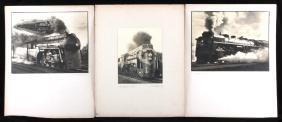 Locomotive Original Black & White Photographs