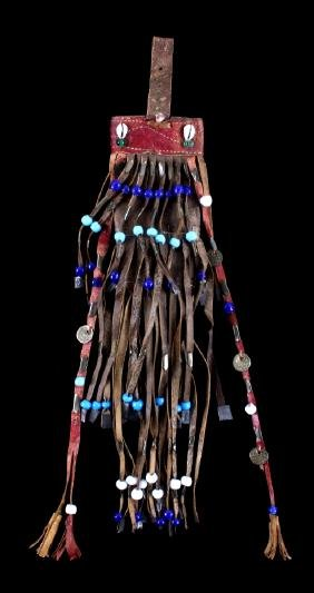 Early Apache Fringed Tobacco Pouch