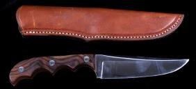 Signed Mitchell Knife & Madison Saddlery Sheath