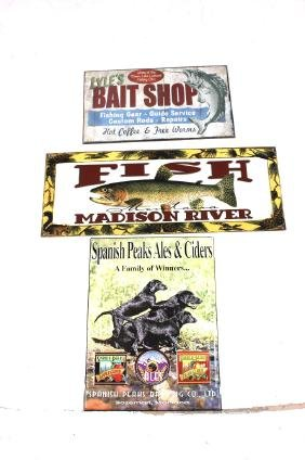 Collection of Montana Advertising Signs