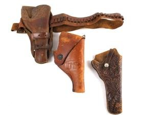 Collection Of Leather Holsters