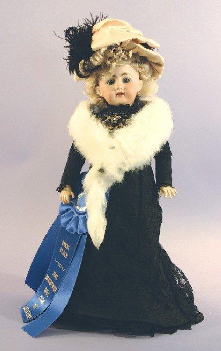 Antique German Bisque Doll, Simon Halbig 1009