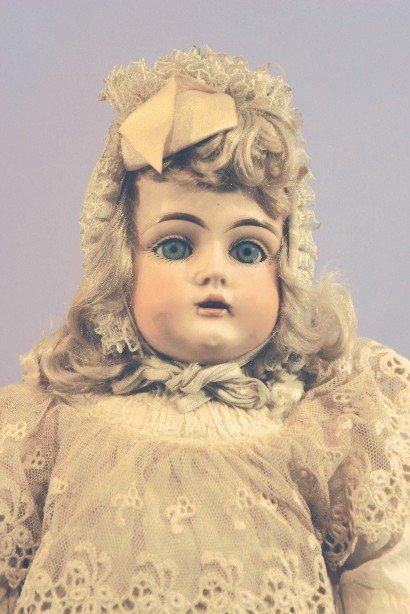 Antique German Bisque Doll, Kestner 129