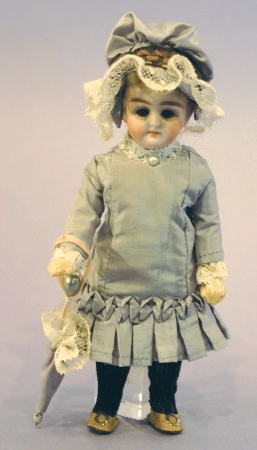 Antique German Bisque Doll, 74-3