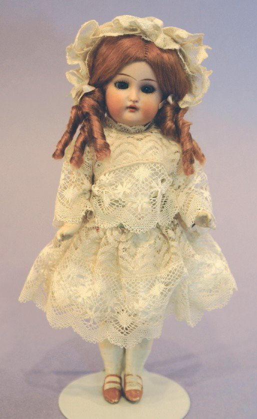 Antique German Bisque Doll, Halbig K*R 21