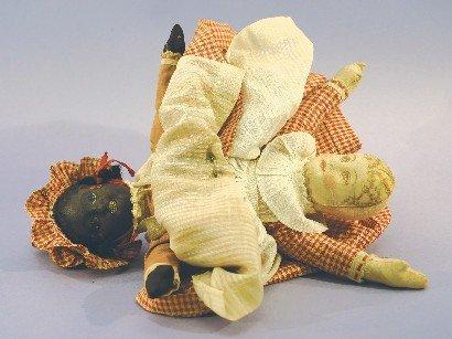 Antique Cloth, Bruckner Topsy-Turvy Doll
