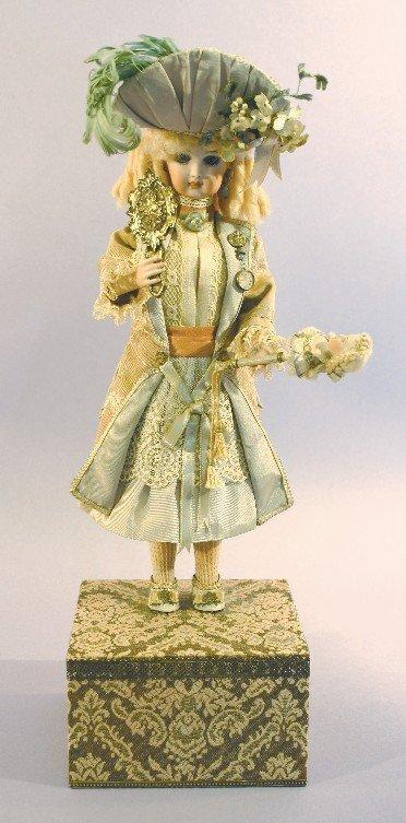 Artist Mel Alpert's Bisque French Mechanical Doll