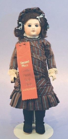 Antique French Bisque Doll, SFBJ 60 Paris 8/0
