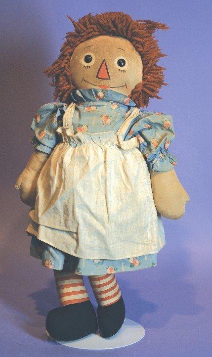 Antique Cloth Georgene Novelties Raggedy Ann