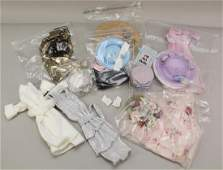 """LOT OF MADAME ALEXANDER """"CISSY"""" DOLL CLOTHING,"""