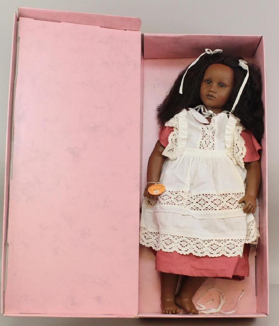 "26"" MIB 1986 ""FATOU"" DOLL #3809 BY ANNETTE HIMSTEDT."