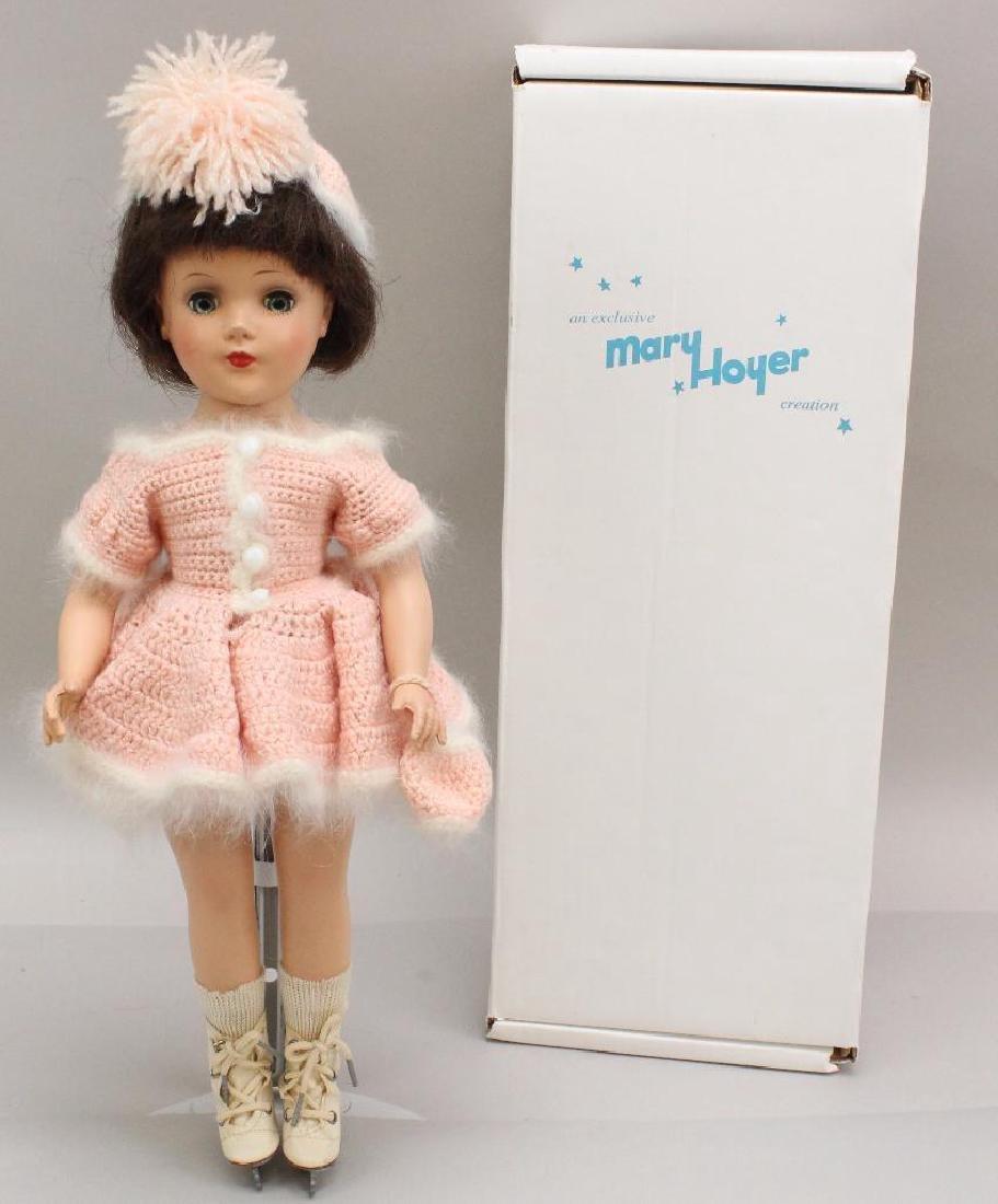 "14"" MARKED  ""MARY HOYER"" HARD PLASTIC DOLL."