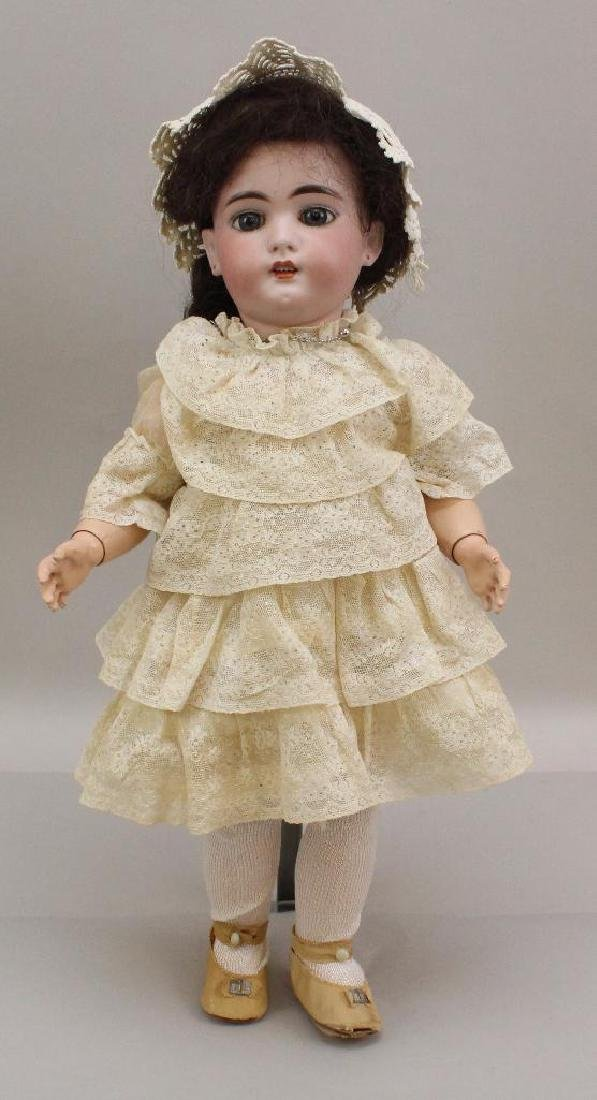"18"" SH 1079 ANTIQUE BISQUE HEAD DOLL."