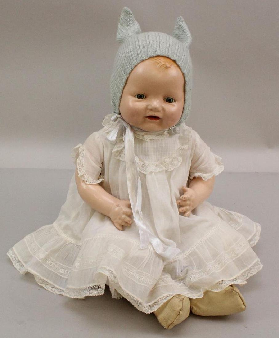"""18"""" � E.I.H. CO. INC. 1928 BABY DIMPLES DOLL."""