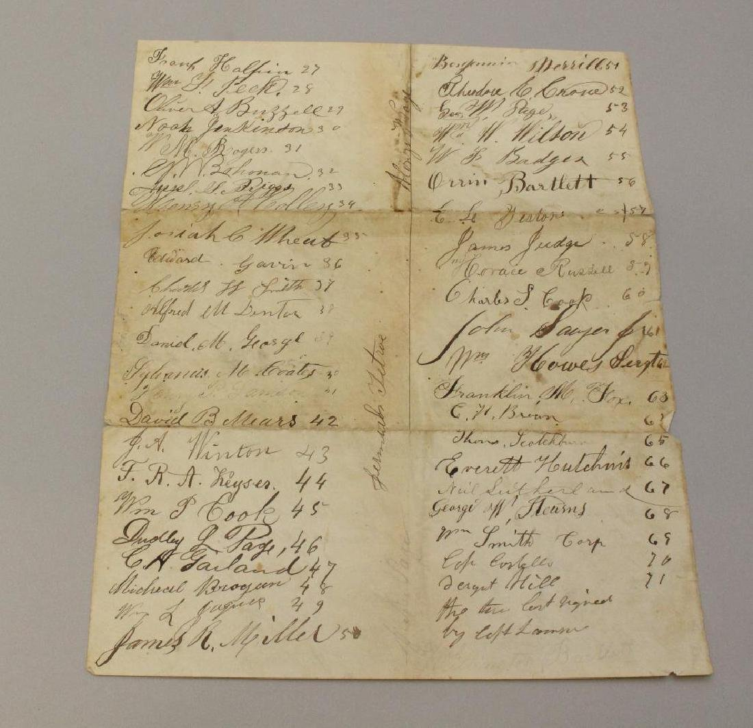 Civil War Muster and Enlistment Rolls - 33rd - 3