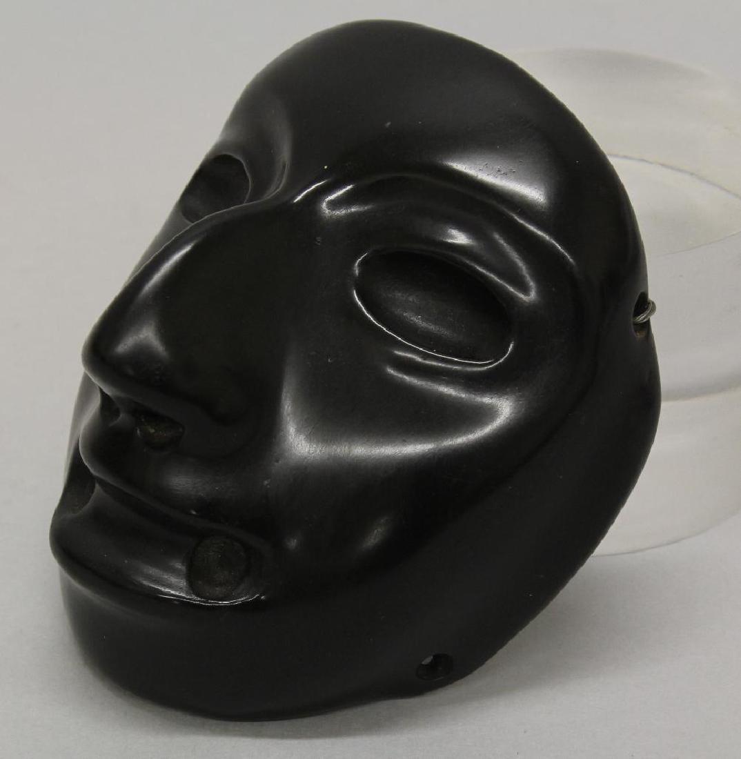 Black Stone Olmec Masquette