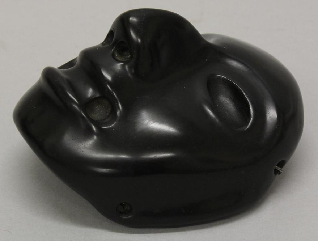 Black Stone Olmec Masquette - 4