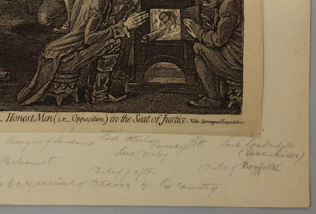 British 18th century Political Etching - 4