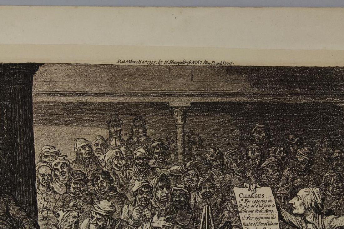 British 18th century Political Etching - 5