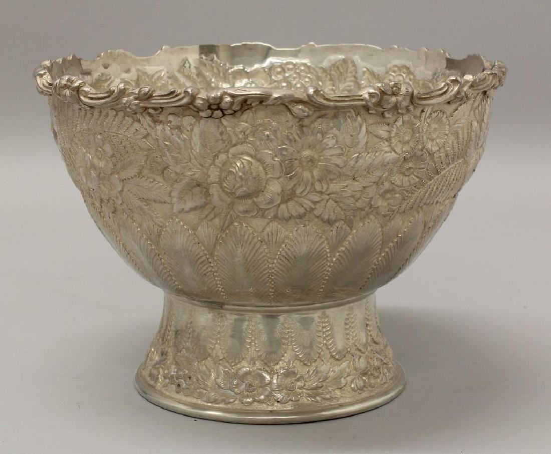 """Tiffany & Co., """"Reppose"""" Sterling Silver Ice Bowl"""