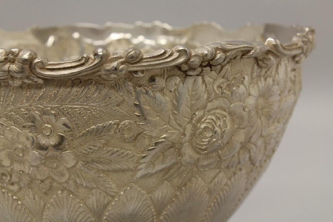 """Tiffany & Co., """"Reppose"""" Sterling Silver Ice Bowl - 4"""