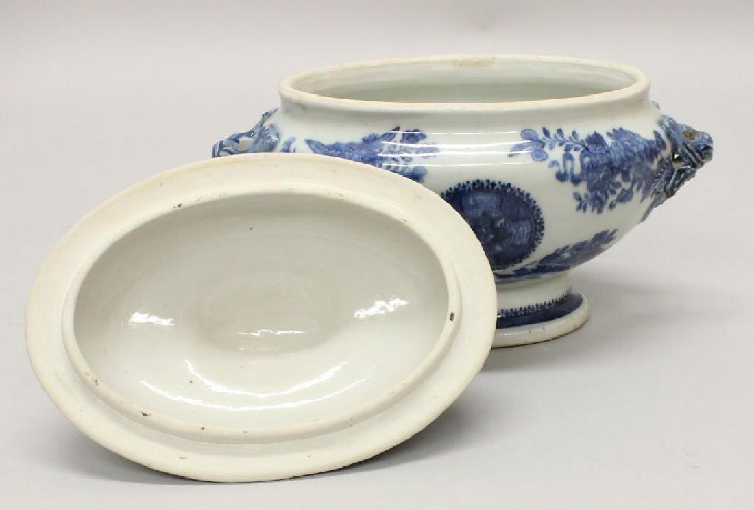 Chinese Export Soup/Gravy Tureen - 4