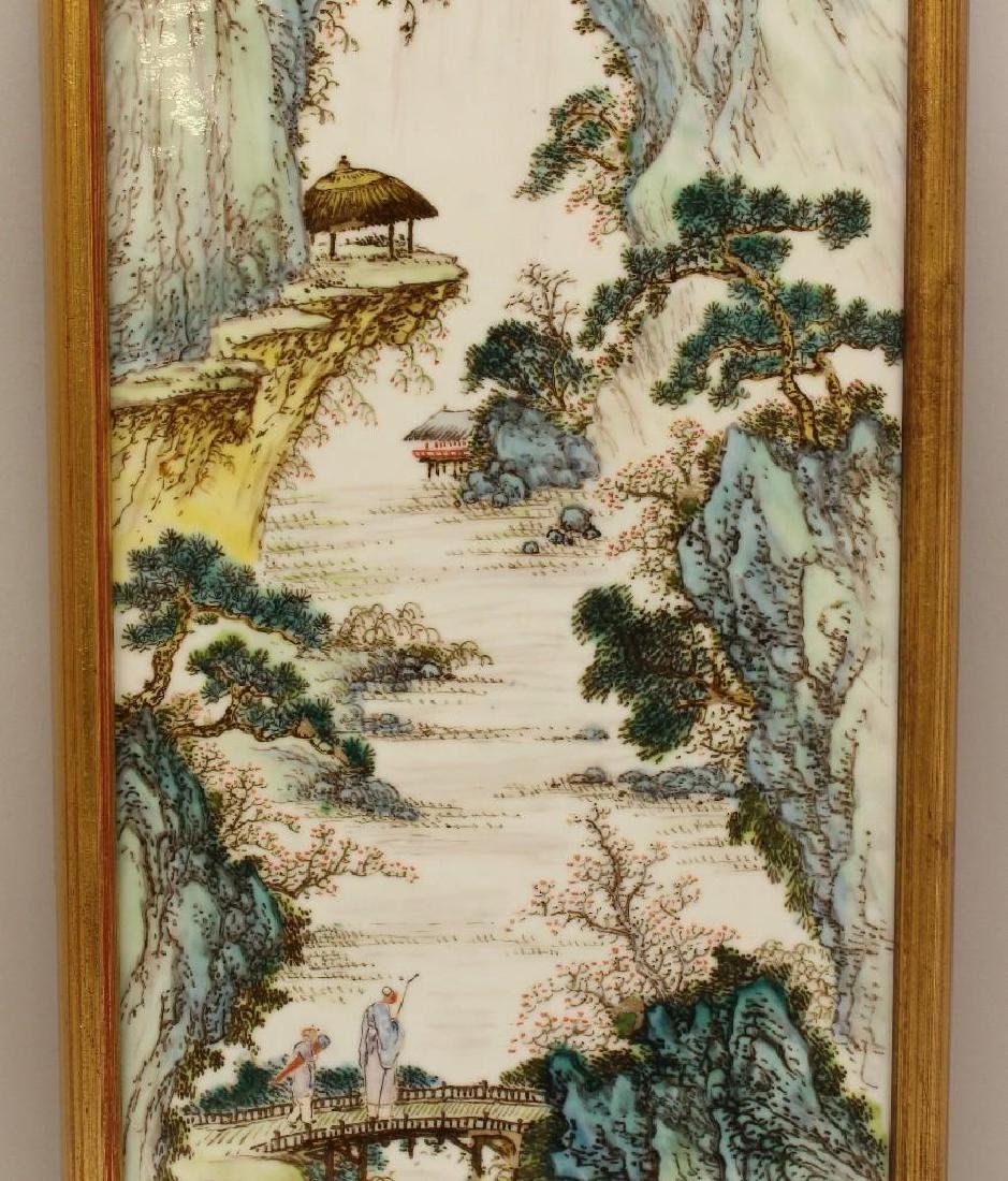 Chinese Export Porcelain Plaque - 2