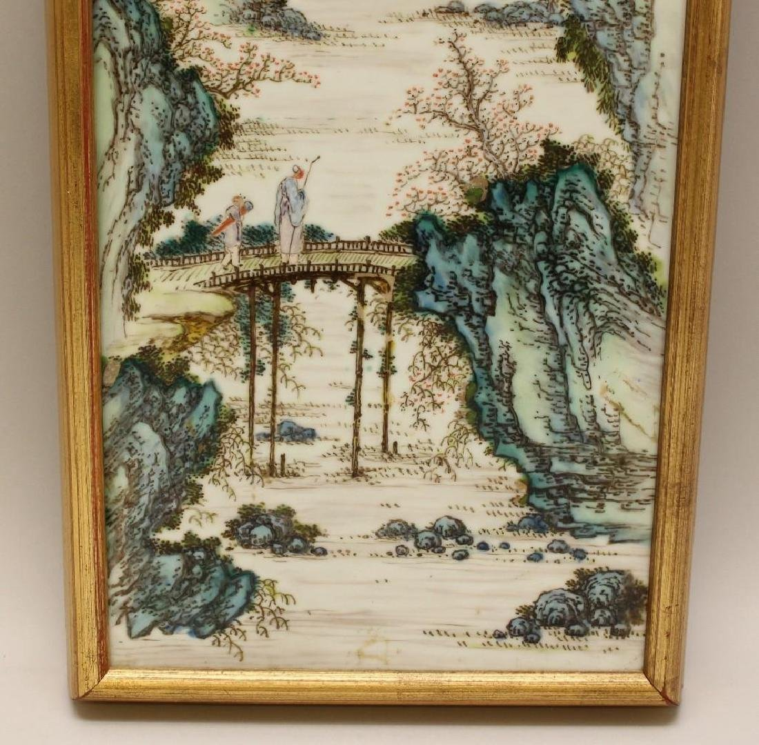 Chinese Export Porcelain Plaque - 3
