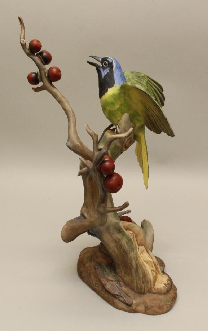 """Pair of Boehm """"Green Jayes"""" Figures - 3"""