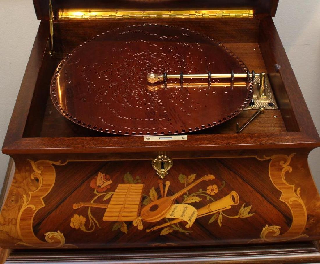 Porter Disk Music Box and Stand - 2