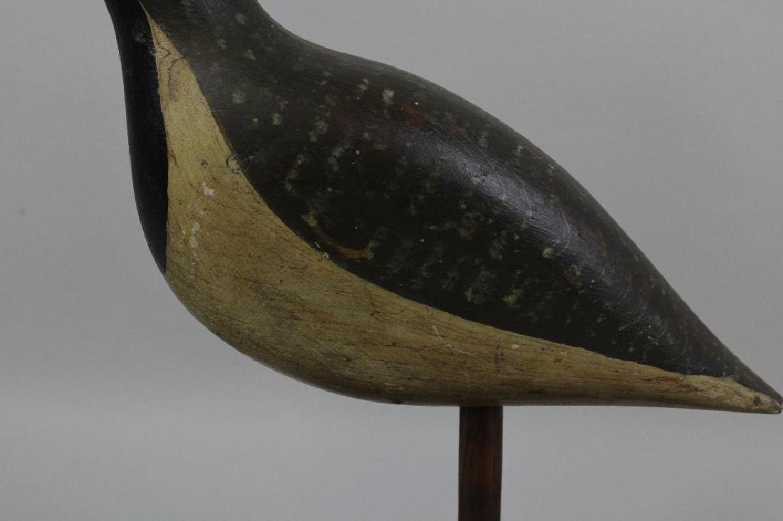 Set of Two Shore Bird Decoys, Including One by Bob - 8