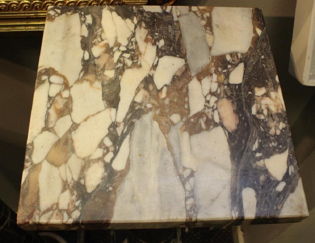 (2) Pair of Marble Column Pedestals - 3