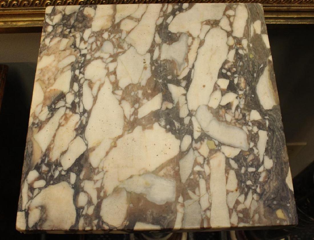 (2) Pair of Marble Column Pedestals - 4