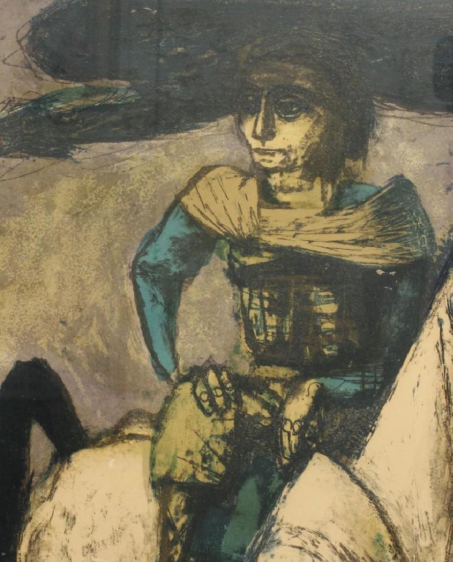 "Benton Spruance (1904-1967, Pennsylvania) ""Poet on - 2"
