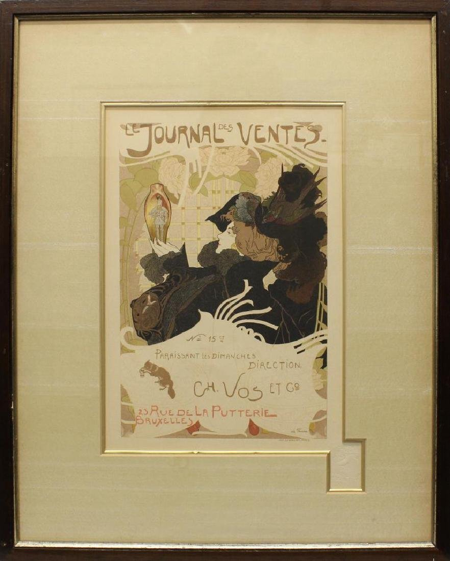 Georges de Feure (1868-1943, Dutch) Le Journal des