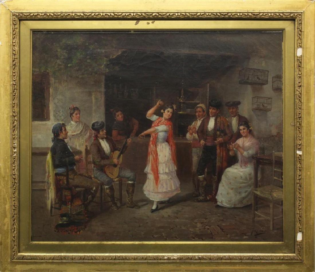 Jose Maria Jardines (1862-1914, Spain) Dance