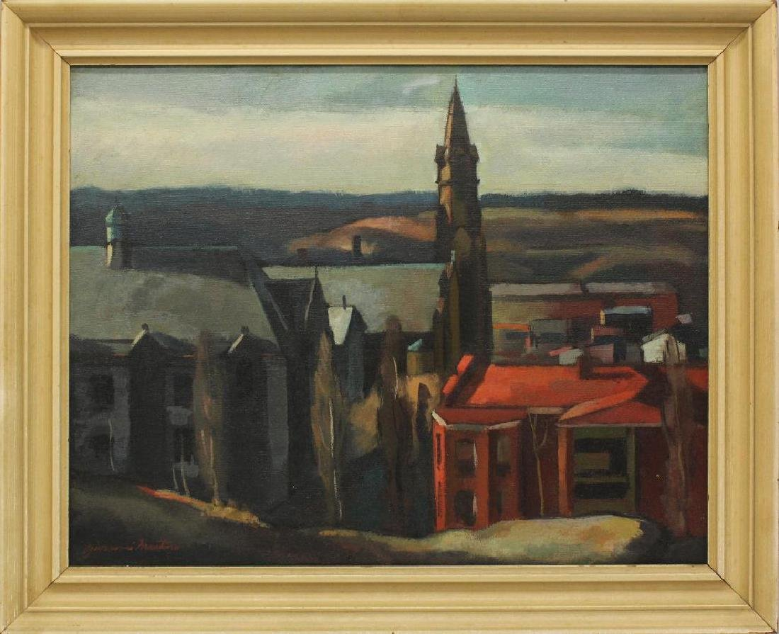 Giovanni Martino (1908-1997, Pennsylvania) Church - 2