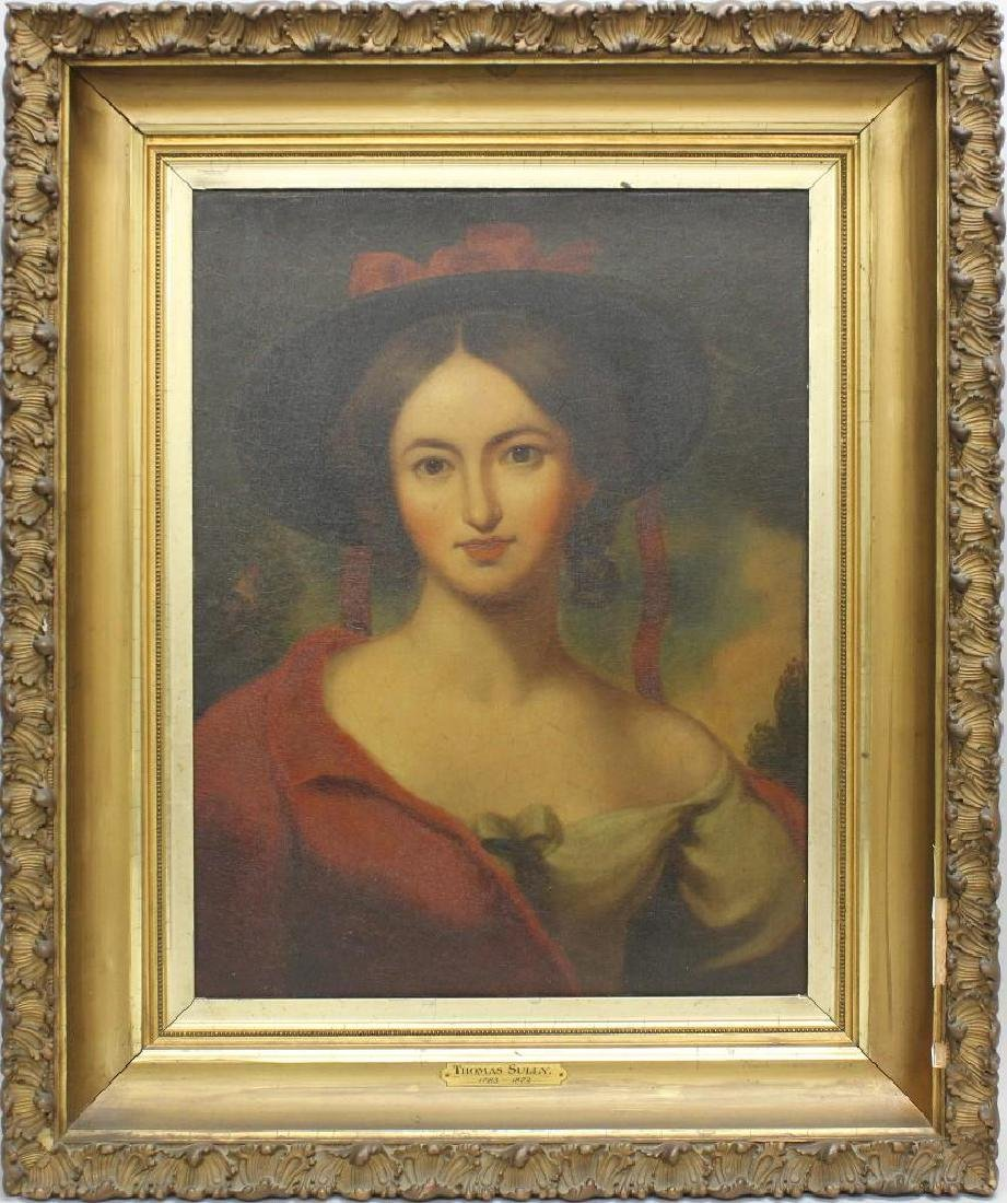 In the Manner of Thomas Sully (1783-1872) Woman with